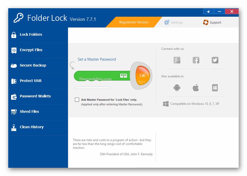Folder Lock Crack 7.9.0 + Activation Key Download 2021
