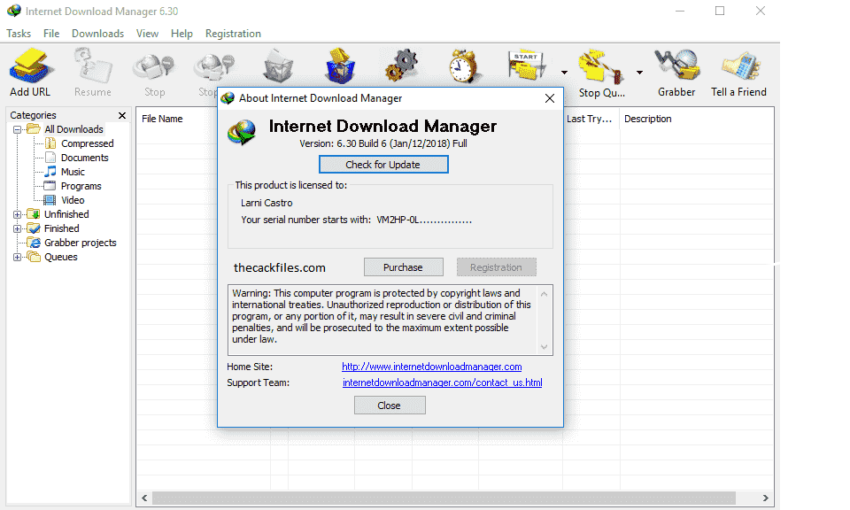 IDM Crack 6.39 Build 2 Patch + Serial Key Free Download