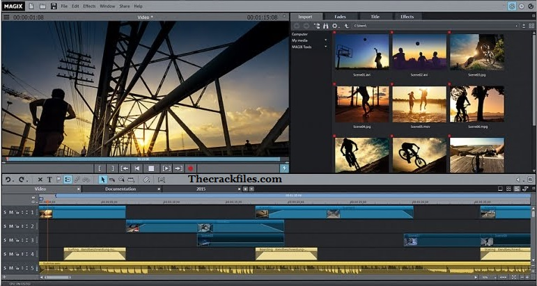 MAGIX Movie Edit Pro Crack 2021 + Serial Number Download