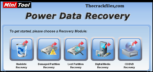 MiniTool Power Data Recovery Crack 10.0+ Serial Key Download