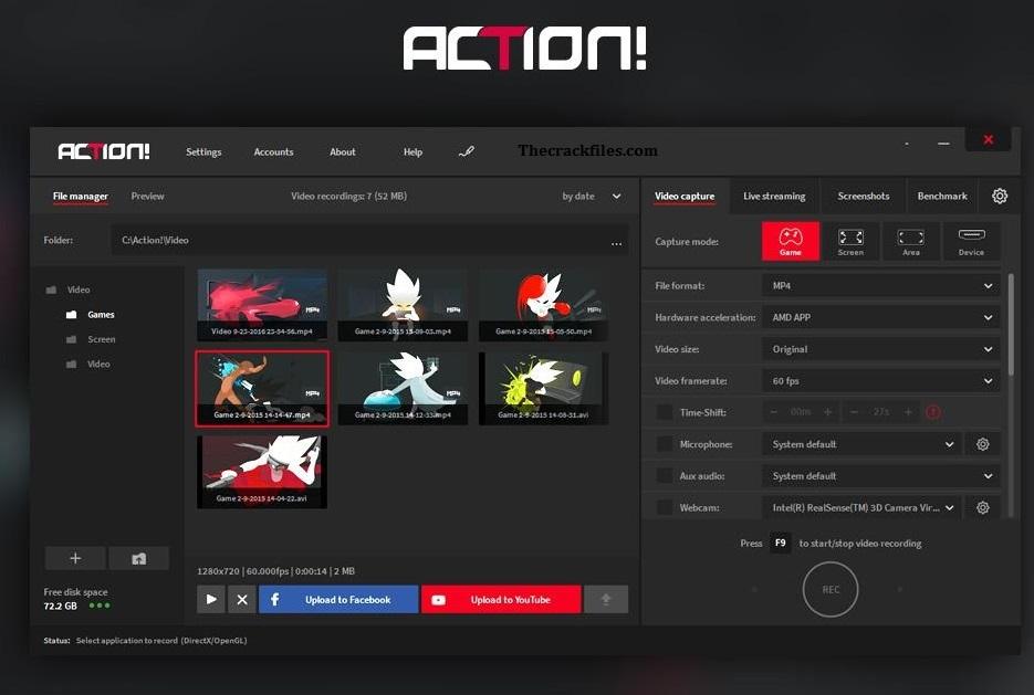 Mirillis Action Crack 4.21.5 + Full Version Download 2021