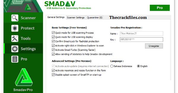 Smadav Pro Crack 14.7.1 + Serial Keys Download 2021