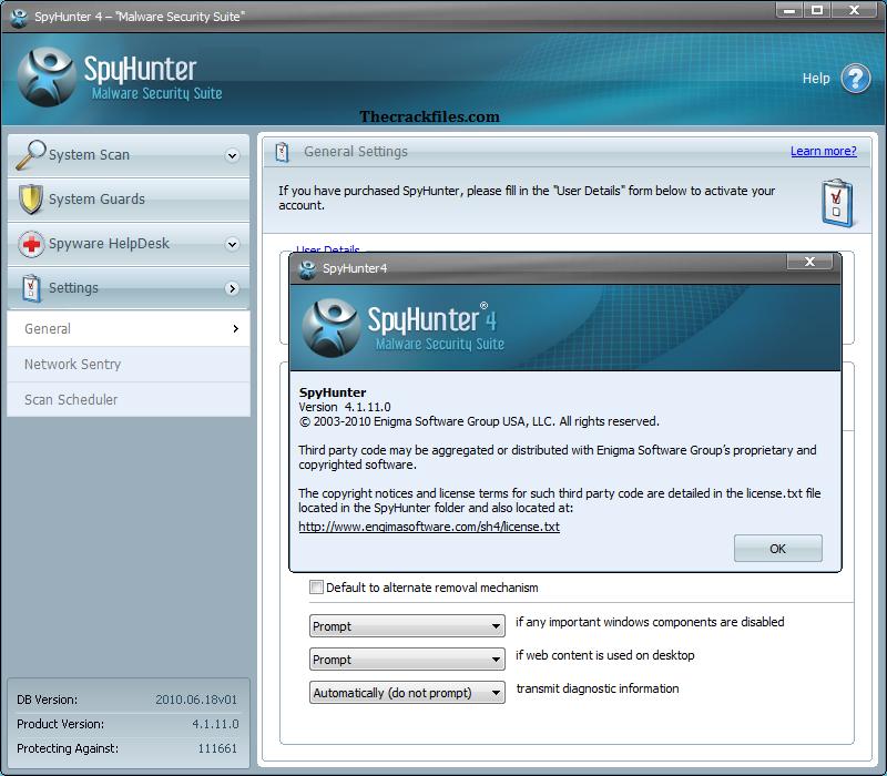 SpyHunter Crack 5.11.8.246 + Serial Key Download 2021
