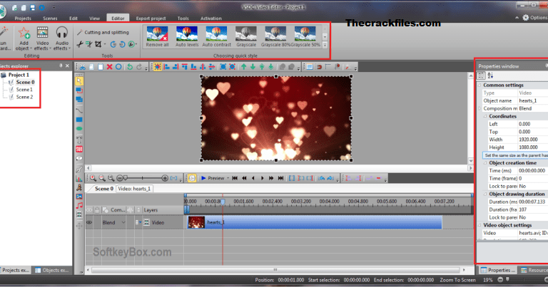 VSDC Video Editor Crack 6.8.6.352 Free Download 2021