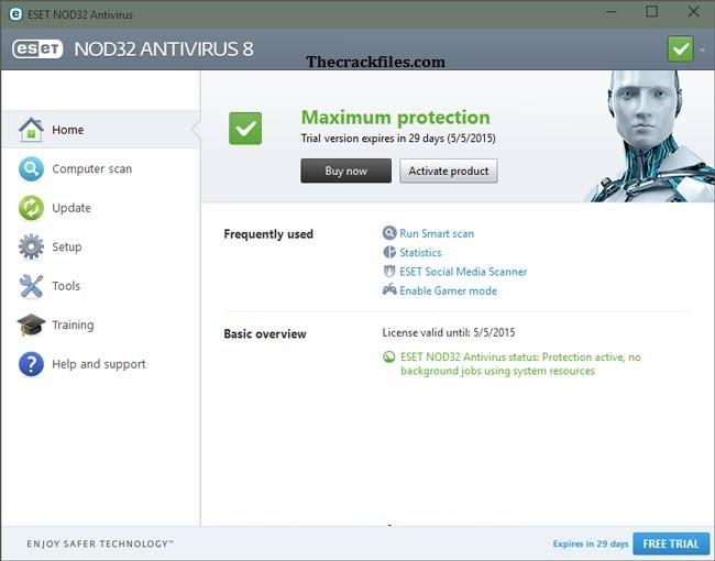 ESET NOD32 Antivirus Crack 2021 v 14.2.24.0+ License Key Download