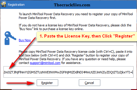 MiniTool Power Data Recovery Crack 9.2 + Serial Key Download