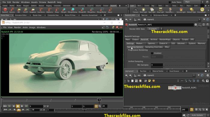 Redshift Render Crack 4.0.45 R23 For Cinema 4D Download