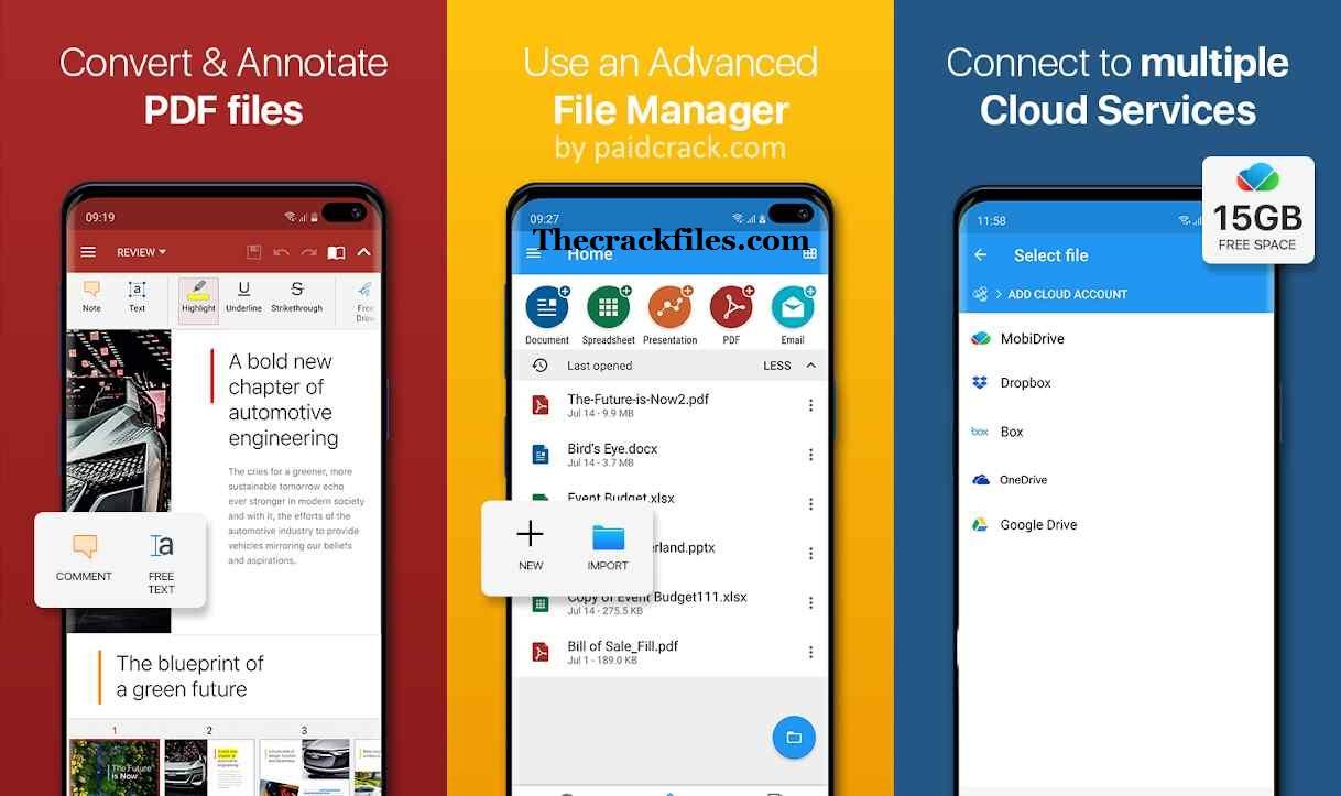 OfficeSuite Pro Crack 11.6.38 + Serial Key Download 2021