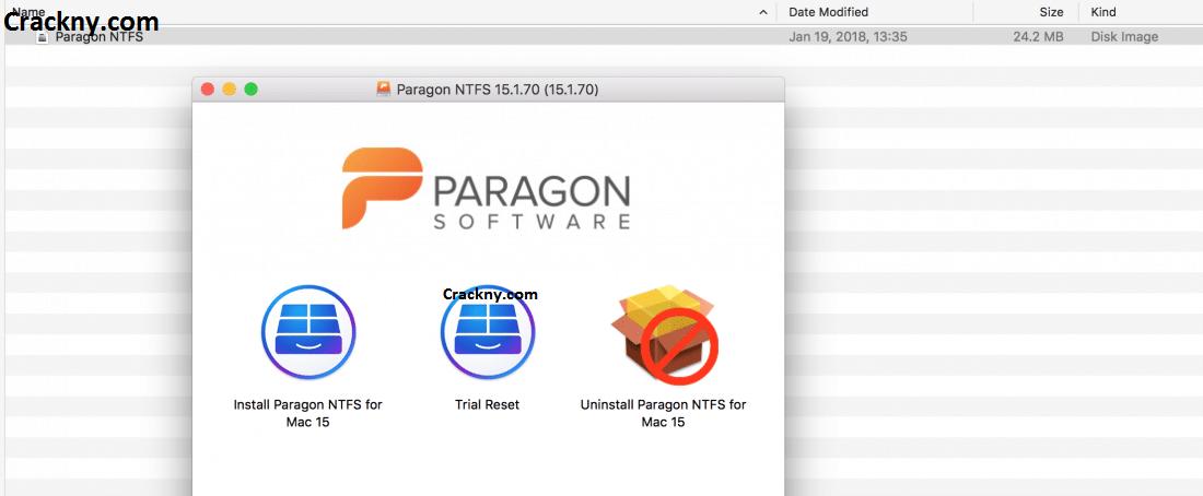 Paragon NTFS Crack 17.0.72 For Mac + Serial Key Download