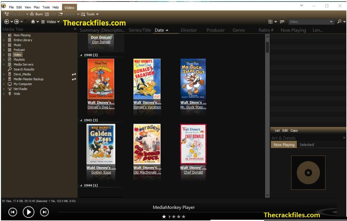 MediaMonkey Gold Crack 5.0.1.2449 + License Key Download