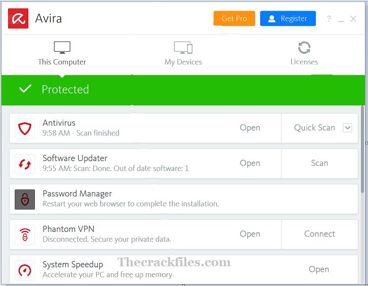 Avira Antivirus Pro Crack 2021 + license code Download 2021