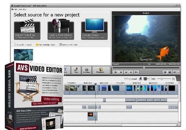 AVS Video Editor Crack 9.5.1.383 + [Latest Keys] Download