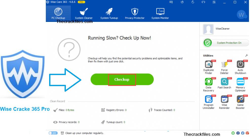 Wise Care 365 Pro Crack 5.8.4 + Activation Key Download 2021