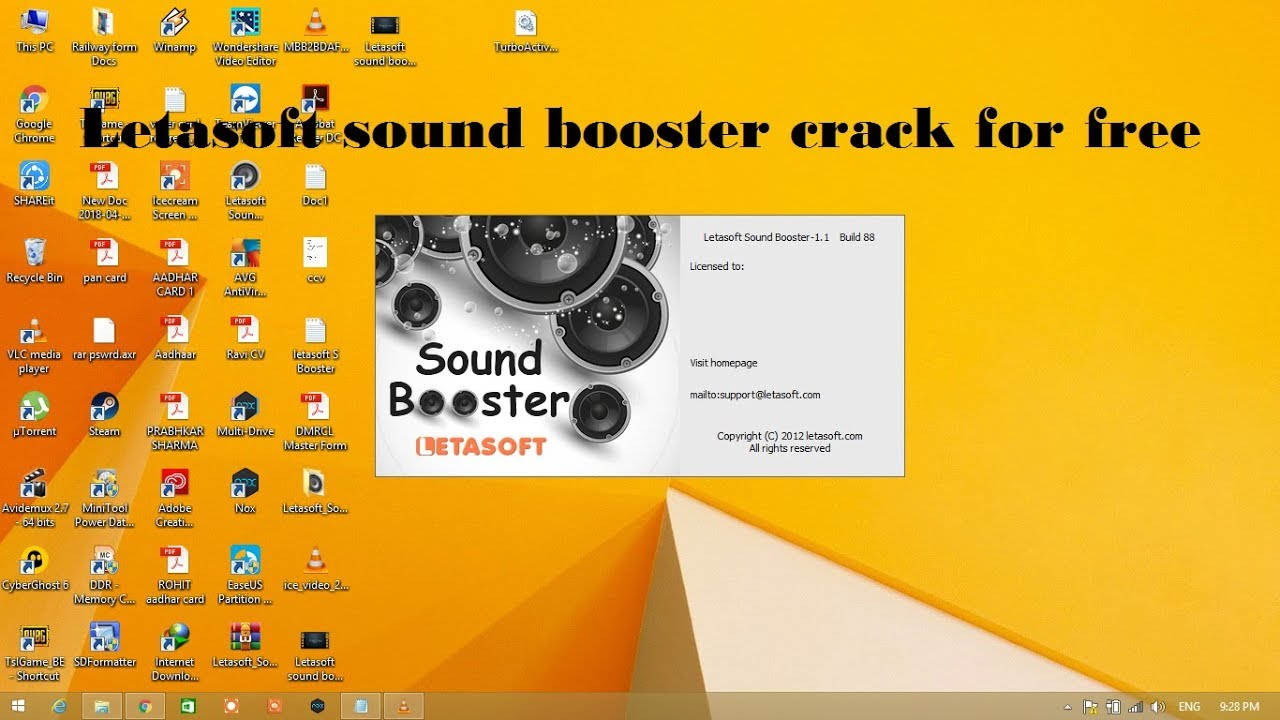 Letasoft Sound Booster Crack 1.11.0.514 With Full Product Key (New)