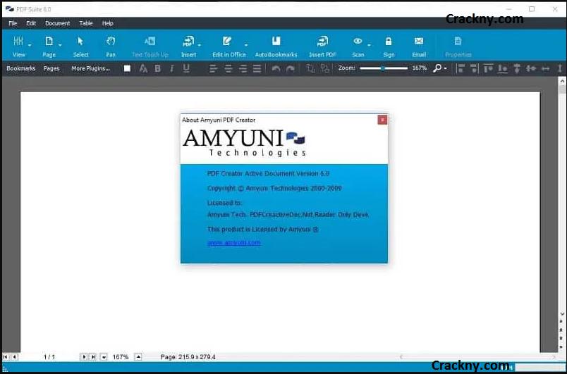 Amyuni PDF Converter / PDF Suite Desktop Crack 6.0.4.1 + Free