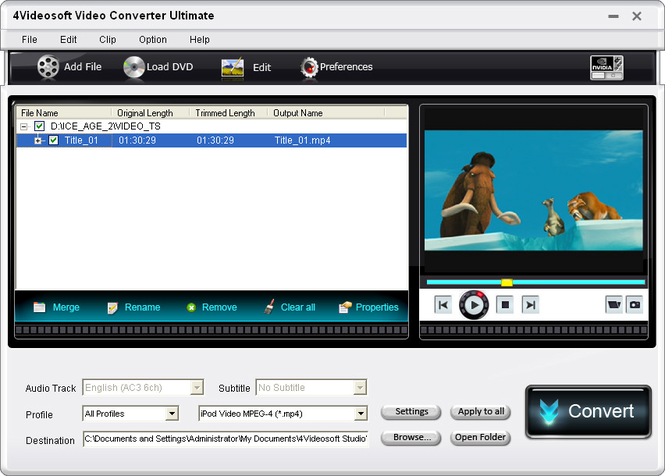 4Videosoft Video Converter Ultimate Crack 9.1.26  With Key Free  [Latest] 2022